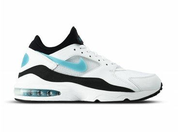 Nike Air Max 93 White Sport Turq Black 306551 107