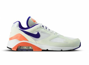 Nike WMNS Air Max 180 White Ultramarine Solar Red AH6786 100