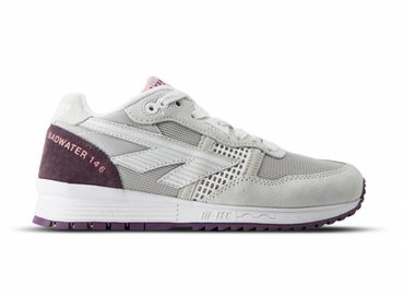 Hi Tec HTS Badwater 146 ABC Suede Cool Grey Rose Purple 006780 051 01