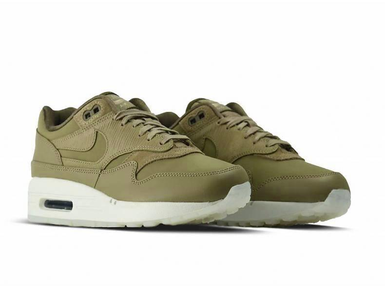 WMNS Air Max 1 PRM Neutral Olive Neutral Olive 454746 205