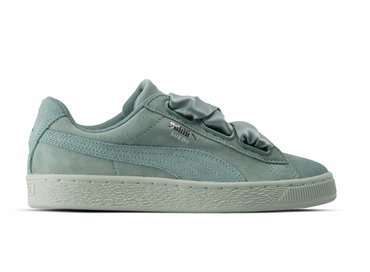 Puma Suede Heart Pebble Wn's Aquifer Blue Flower 365210 03