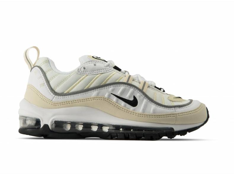 Wmns Air Max 98 White Black Fossil AH6799 102
