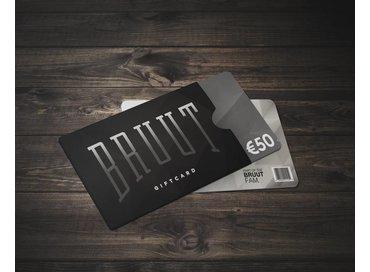 Bruut Giftcard 50,-
