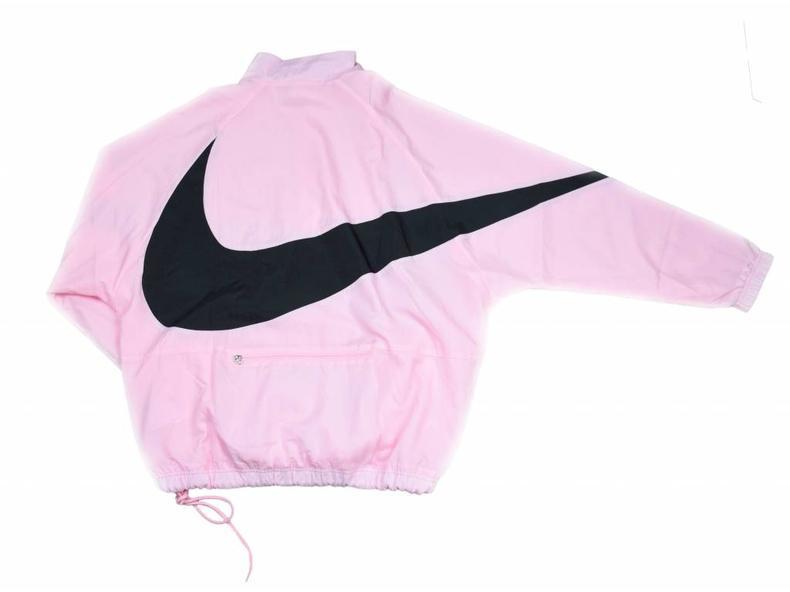 Swoosh Half Zip Jacket Pink Black AJ2696 686
