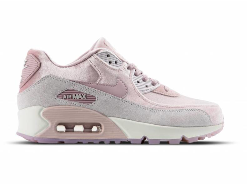 WMNS Air Max 90 LX Particle Rose Particle Rose Vast Grey 898512 600