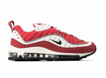 Nike WMNS Air Max 98 White Black Gym Red AH6799 101