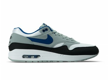 Nike Air Max 1 White Gym Blue Light Pumice Black AH8145 102