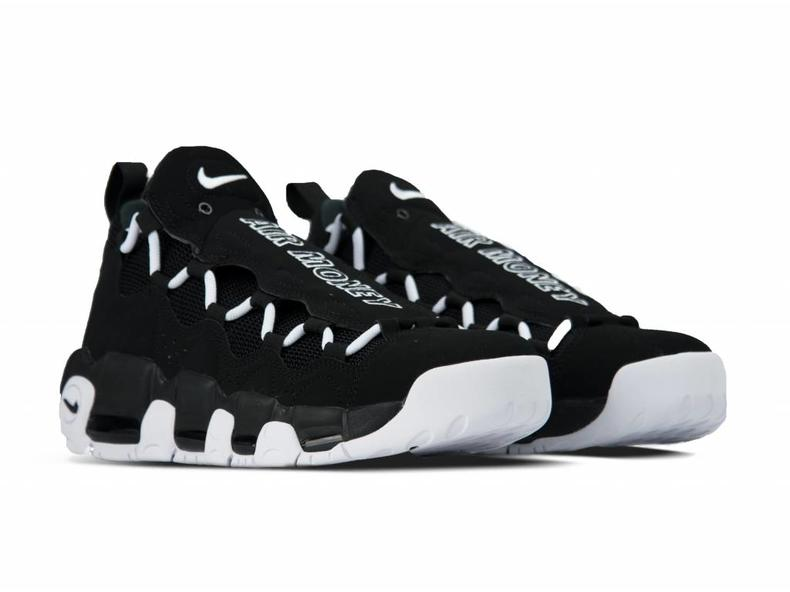 Air More Money Black White Black AJ2998 001