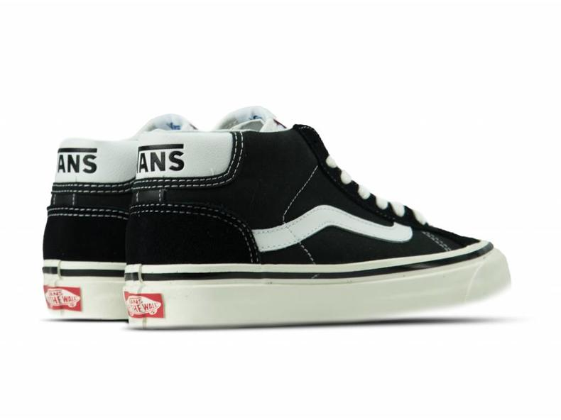 Mid Skool 37 DX Anaheim Factory Black White VN0A3MUOQF6