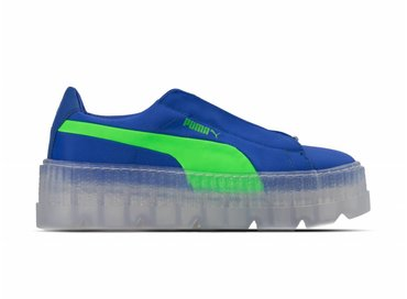 Puma Cleated Creeper Surf Wns Dazzling Blue Green Gecko 367681 01