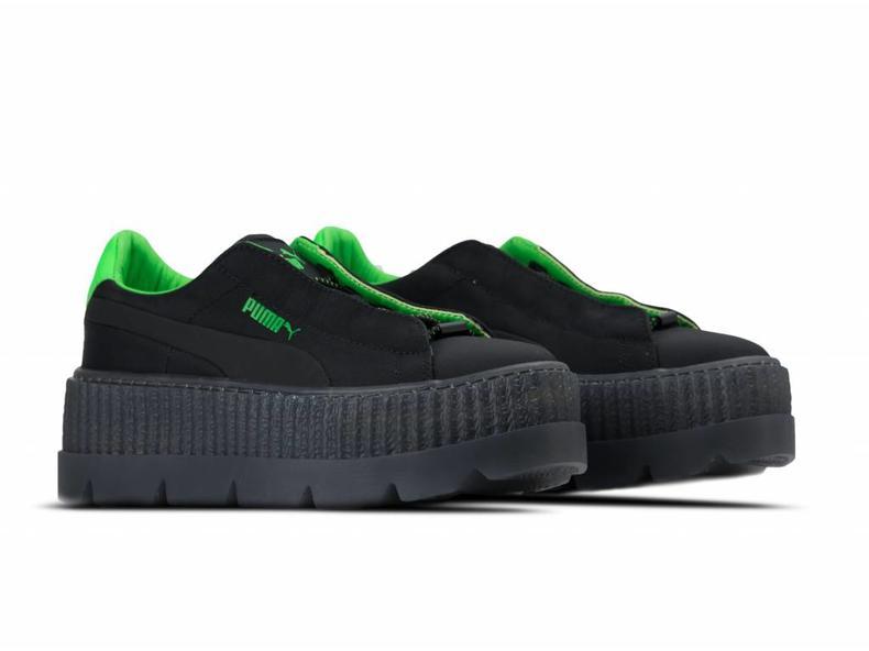 Cleated Creeper Surf Wns Puma Black Green Gecko Black 367681 03