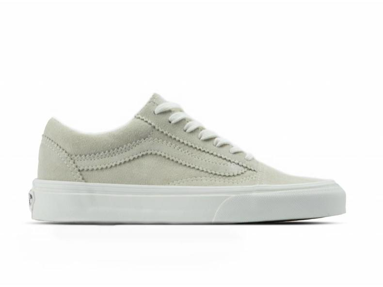 Old Skool Pinked Suede Silver VN0A38G1Qu3
