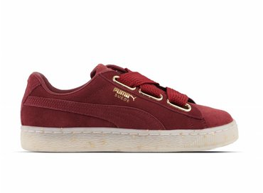 Puma Suede Heart Celebrate Wn's Red Dahlia Red Dahlia 365561 02