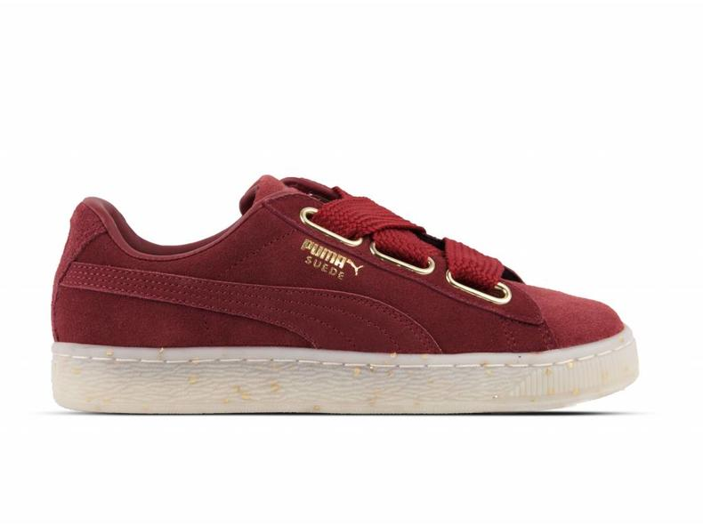 Puma Suede Heart Celebrate Wn's Red Dahlia/ Red Dahlia