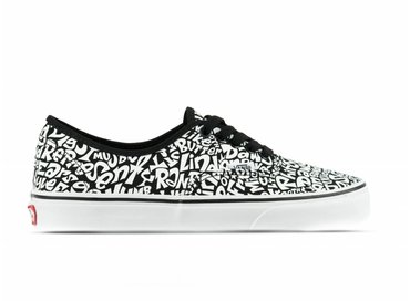 Vans Authentic ATCQ Tracklist True White VN0A38EMQ8H