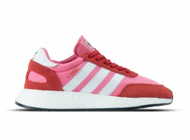 Adidas Iniki Runner I 5932 W Chalk Pink Ftwr White Bold Orange CQ2527