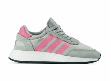Adidas Iniki Runner I 5923 Grey Two Chalk Pink Core Black CQ2528