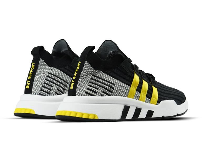 EQT Support Mid ADV PK Core Black EQT Yellow Footwear White CQ2999