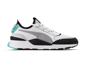 Puma RS 0 Re Invention White Gray Violet Biscay Green 366887 01