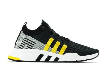 Adidas EQT Support Mid ADV PK Core Black EQT Yellow Footwear White CQ2999