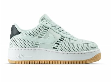 Nike W Air Force 1 Upstep SI Barely Grey Barely Grey 917591 001