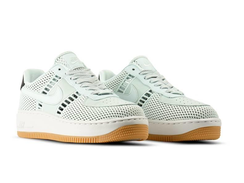 W Air Force 1 Upstep SI Barely Grey Barely Grey 917591 001