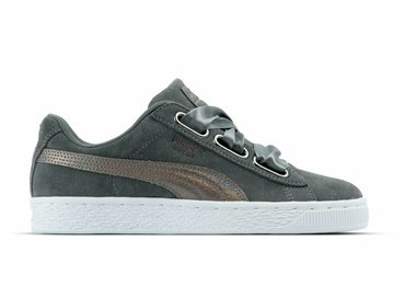 Puma Suede Heart LunaLux Wn's Smoked Pearl 366114 01