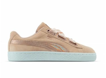 Puma Suede Heart LunaLux Wn's Cream Tan 366114 02