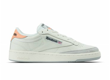 Reebok Club C 85 FT Chalk Sunbaked Orange Grey BS9749