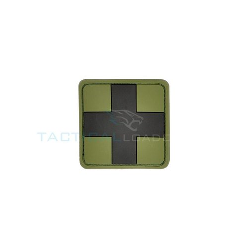 Jackets to Go JTG Red Cross PVC Patch Forest