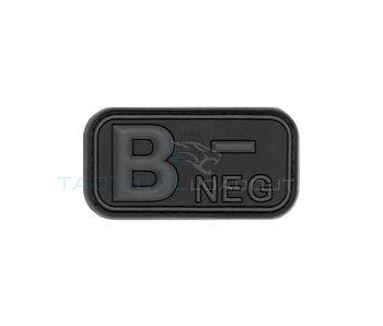 JTG B-Negative PVC Patch Blackops