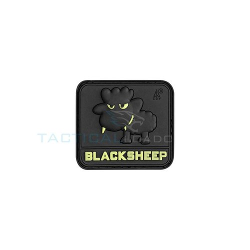 Jackets to Go JTG Black Sheep PVC Patch Glow In The Dark