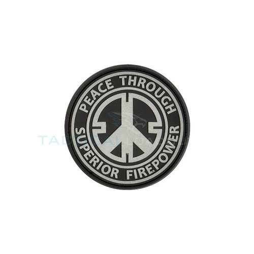 Jackets to Go JTG Peace Firepower PVC Patch Swat