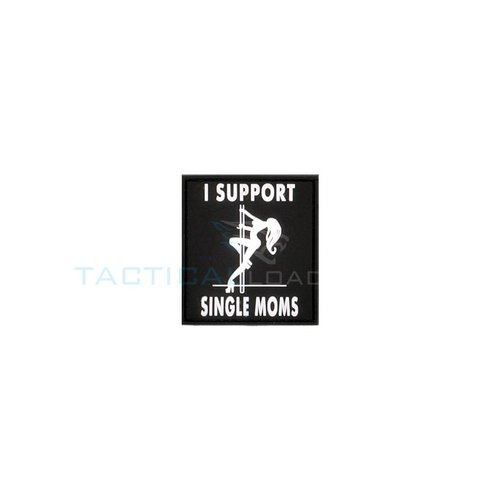 Jackets to Go JTG I Support Single Moms PVC Patch