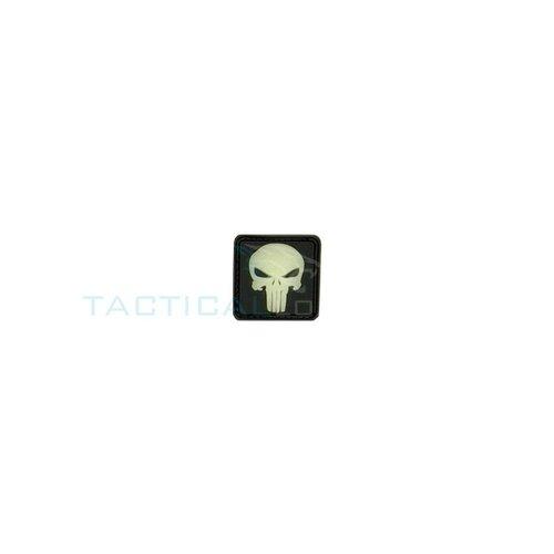 Jackets to Go JTG Punisher PVC Patch Glow in the Dark