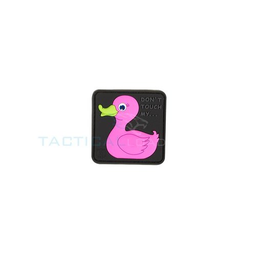 Jackets to Go JTG Tactical Rubber Duck PVC Patch Pink
