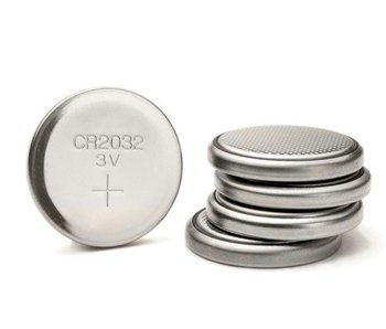 CR2032 Knoopcel / Batterij 3V Lithium