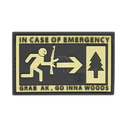Jackets to Go JTG Emergency PVC Patch