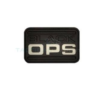 JTG Black OPS PVC Patch Glow in the Dark