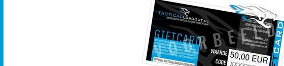 Tactical - Kadobonnen / Giftcards
