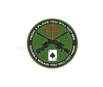 Sniper Ace PVC Patch Olive