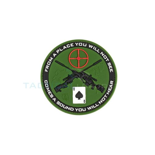 Jackets to Go Sniper Ace PVC Patch Olive