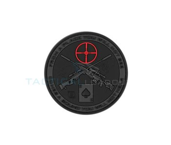 Sniper Ace PVC Patch Black Ops