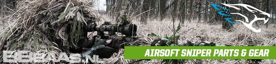 AIRSOFT SNIPER PARTS & GEAR
