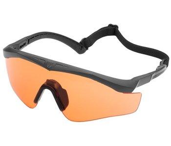 Revision Sawfly Max-Wrap Orange Balistische Bril