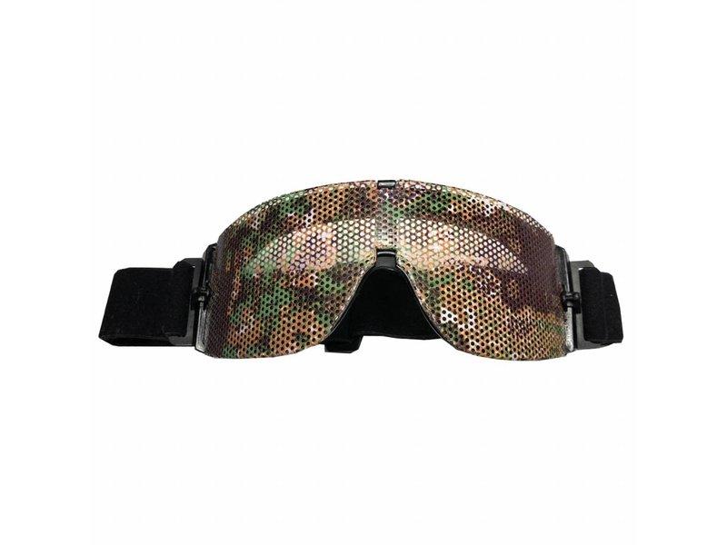 LenSkin LenSkin Greenfield Camo Folie voor Goggles