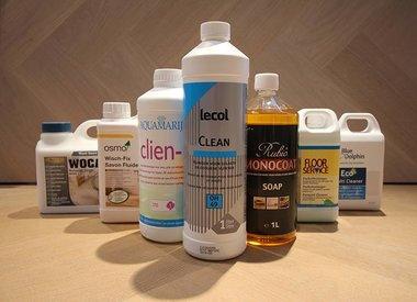 Schoonmaakmiddel Houten Vloer : Olie onderhoud en schoonmaakmiddel voor geoliede vloeren
