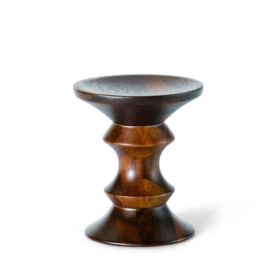 Eames Inspired Walnut Stool - Model A