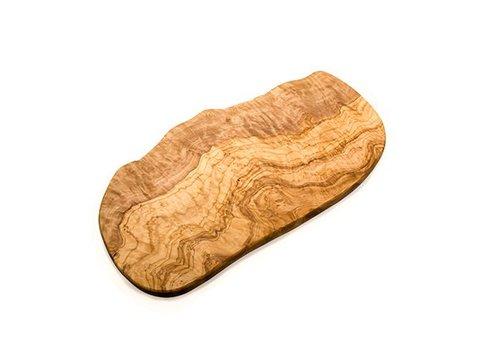 Van Verre Olijfhouten plank Groot 50-60 x 2 cm