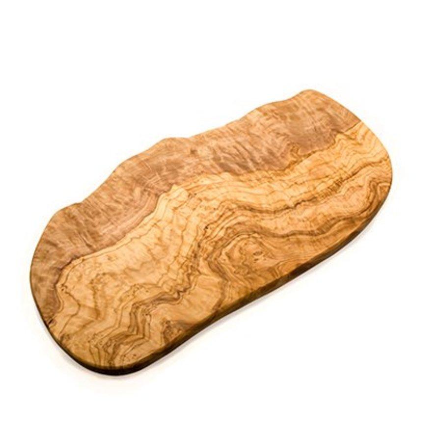 Olijfhouten plank Groot 50-60 x 2 cm